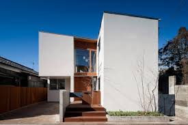 Small Picture Coupled House a micro machine for living Japanese Architecture