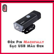 Đèn Trước Xe Đạp Machfally Sạc USB