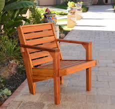 modern wood chair. Kari\u0027s Modern Wood Chair (Options: Redwood, Standard Seat Height (14\
