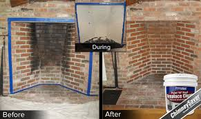 best way to clean soot off fireplace bricks ideas