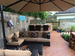 wicker is among the top outdoor furniture trends for 2016 says houston outdoor designer lisha