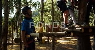 Walking Logs Kids Walking On The Logs 4k Hi Res Video 81770396