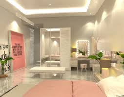 architecture and interior design. Pink Bedroom Interior Architecture And Design