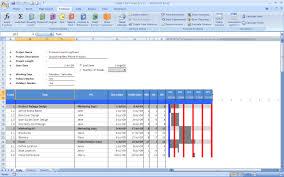 Gantt Chart Excel Template Cyberuse