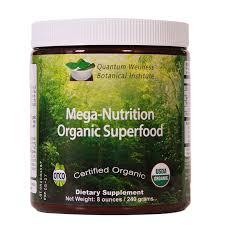 mega nutrition organic superfood