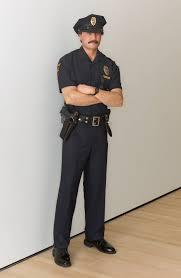 Duane Hanson, Policeman, 1992/1994 · SFMOMA
