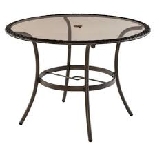round glass patio dining tables