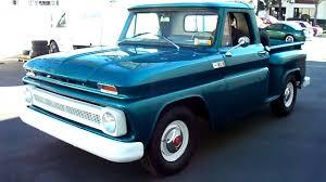 1965 Chevrolet C10 1/2 Ron Stepside Short Bed Pickup - YouTube