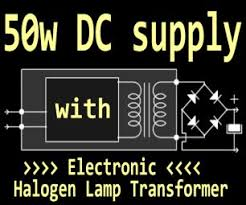 50w <b>Supply</b> With <b>Halogen</b> Lamp Transformer : 10 Steps (with ...