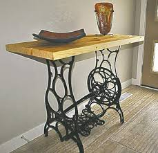 antique sewing machine table value