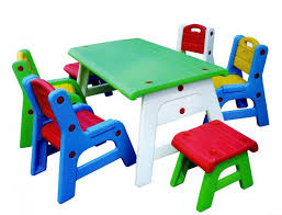 chair table kids tables brightness of the bright colors in the design of chairs and tables for the kids with ways of making united into one use plastic bright coloured furniture
