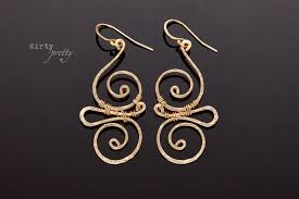 14th anniversary gifts for her whimsy gold earrings by dirtypretty artwear anniversary gifts for