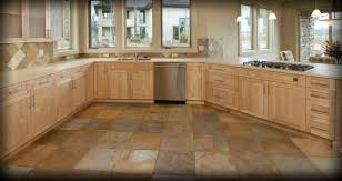 Cork Floor For Kitchen Tile Floor Designs Tile Surfaces Updating A Cozy Craftsman This