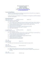 qualifications resume