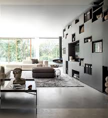 when situated in the living room can cover a whole wall without being too overwhelming and offer at the same time functionalism and style