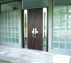 glass front door privacy ideas s