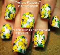 Robin Moses Nail Art: Bright Yellow Nail Art, Robin Moses Polish ...