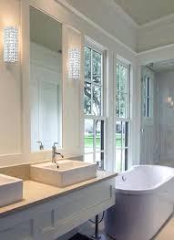 modern bathroom wall sconces. Modern Bathroom Wall Sconces Contemporary Chic Crystal Sconce Lighting Mid Century . I