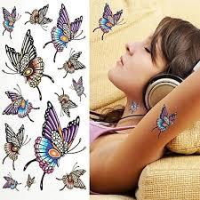 1 Pcs Tetovací Nálepky Dočasné Tetování Zvířecí řada šetrný Vůči životnímu Prostředí Jednorázová Tělesné Arts Paže Rameno Zpátky Tetovací