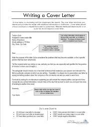 Download What Goes On A Cover Letter For A Resume