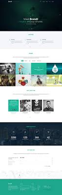 bootstrap html templates  brandi bootstrap html website templates
