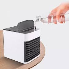 HÀNG CAO CẤP] Quạt hơi nước mini quạt điều hòa không khí mini quạt thổi hơi  nước đá dùng điện 5V usb để bàn nhỏ gọn chống khô da điều hòa giảm