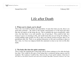 life after death university historical and philosophical studies  document image preview