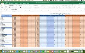Simple Marketing Budget Template For Small Business Excel