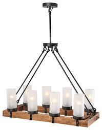 8 light kitchen island ceiling pendant lighting
