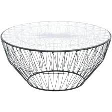 wire coffee table glass top wire coffee table wire coffee table target