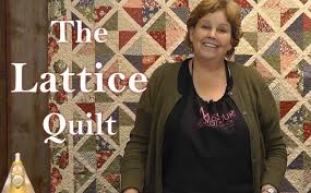 The Lattice Quilt - Quilting Made Easy! - YouTube &  Adamdwight.com