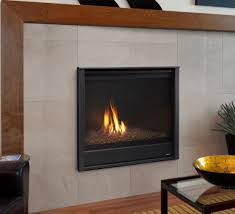 heatilator caliber modern 36 direct vent gas fireplace with simon front and amber glass media
