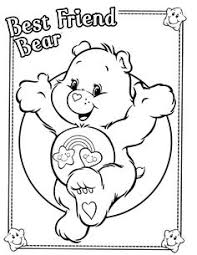 Small Picture coloring page Care Bears Good night Coloring pages Pinterest