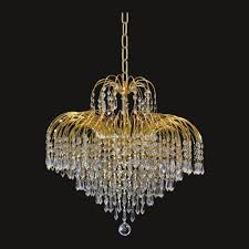 european style 11 lights clear crystal gold finish chandelier