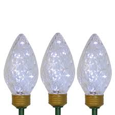 C9 Pathway Lights Details About Northlight 3 Led C9 Bulb Christmas Pathway Marker Lawn Stakes Clear Lights