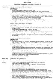 Middle Office Operations Resume Samples Velvet Jobs