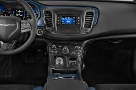 chrysler 200 2015 interior. 2015 chrysler 200 lx sedan instrument panel interior