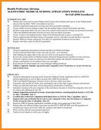 8 Sample Resume For Medical School Application Azzurra Castle