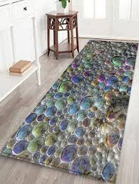 sea forths pattern water absorption area rug
