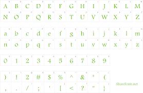 Download Free Font Footlight Mt Light