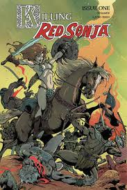Killing Red Sonja #1 - READING WITH A FLIGHT RING