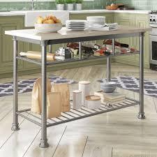 Trent Austin Design Haleakal Prep Table With Quartz Veneer Top