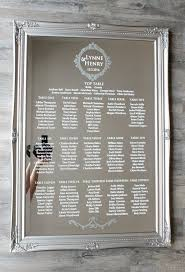 Vinyl Seating Chart Acrylic Wedding Table Plan A2 A1 Or A0 Seating Chart