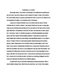 essay on evolution vs creation  creation vs evolution essays and papers 123helpme com