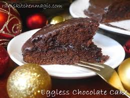Eggless Chocolate Cake Recipe Easy Homemade Eggless Chocolate Cake