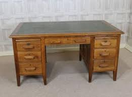 Vintage Office Table VINTAGE OAK DESK Vintage Office Table Nongzico