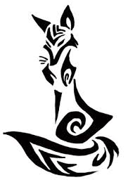 tribal fox drawing. Delighful Fox Tribal Fox  Google Search More With Tribal Fox Drawing G
