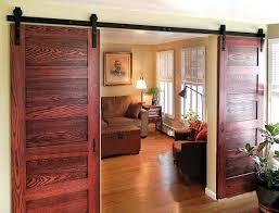 diyhd 8ft 13ft double sliding barn door hardware rustic black double french door cabinet door track kit in doors from home improvement on aliexpress com