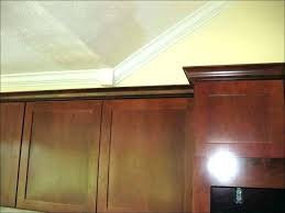 kitchen cabinet moulding ideas installing crown molding on cabinets how to install