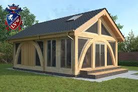 prefabricated garden office. Quality Glulam Fully Insulated Garden Office Prefabricated B